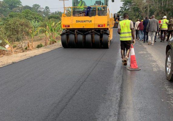 Cameroun : les bonnes performances des entreprises dans la réhabilitation de la nationale n°4